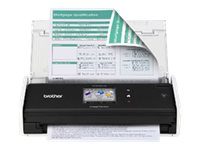 Brother ADS-1500W Color Duplex Desk Scanner, ADS-1500W, 16147429, Scanners