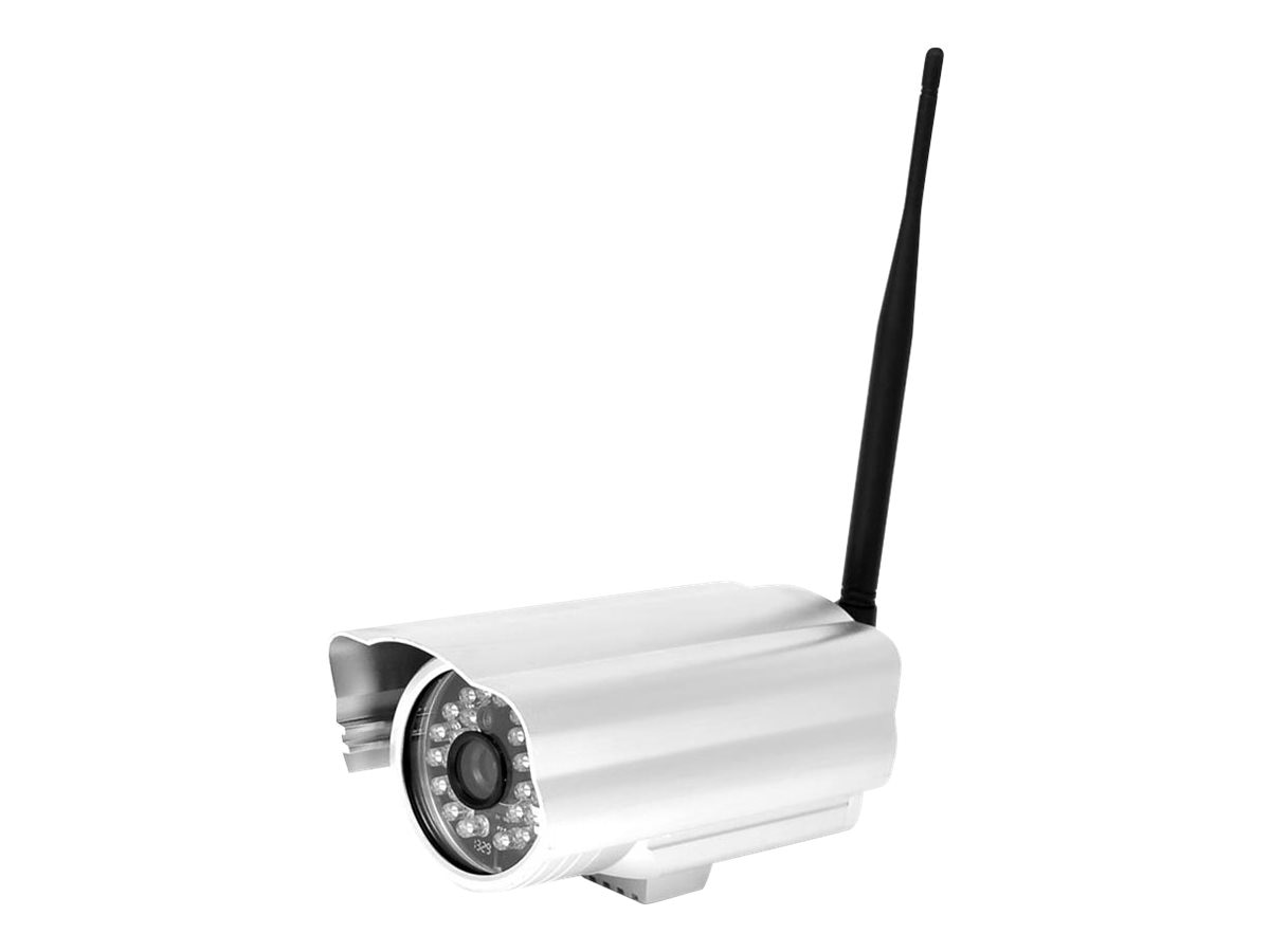 Pyle Weatherproof IP Camera Surveillance Security Monitor with WiFi