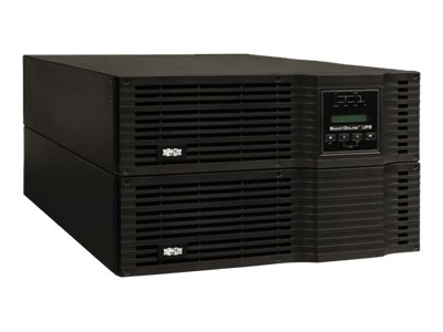 Tripp Lite SmartOnline 6kVA On-Line Double-Conversion UPS, 6U Rack Tower, 200-240V Hardwire output