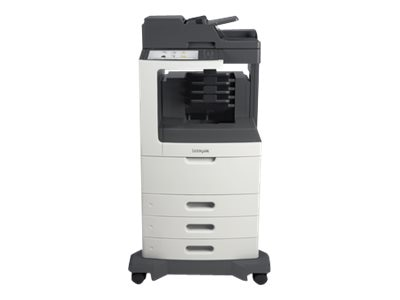 Lexmark MX812dtme Monochrome Laser Multifunction Printer, 24T7438, 14908634, MultiFunction - Laser (monochrome)