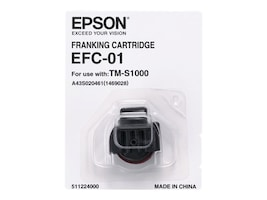 Epson EFC-01 CaptureOne Franking Cartridge, Red Ink, A43S020461, 16417329, Ink Cartridges & Ink Refill Kits