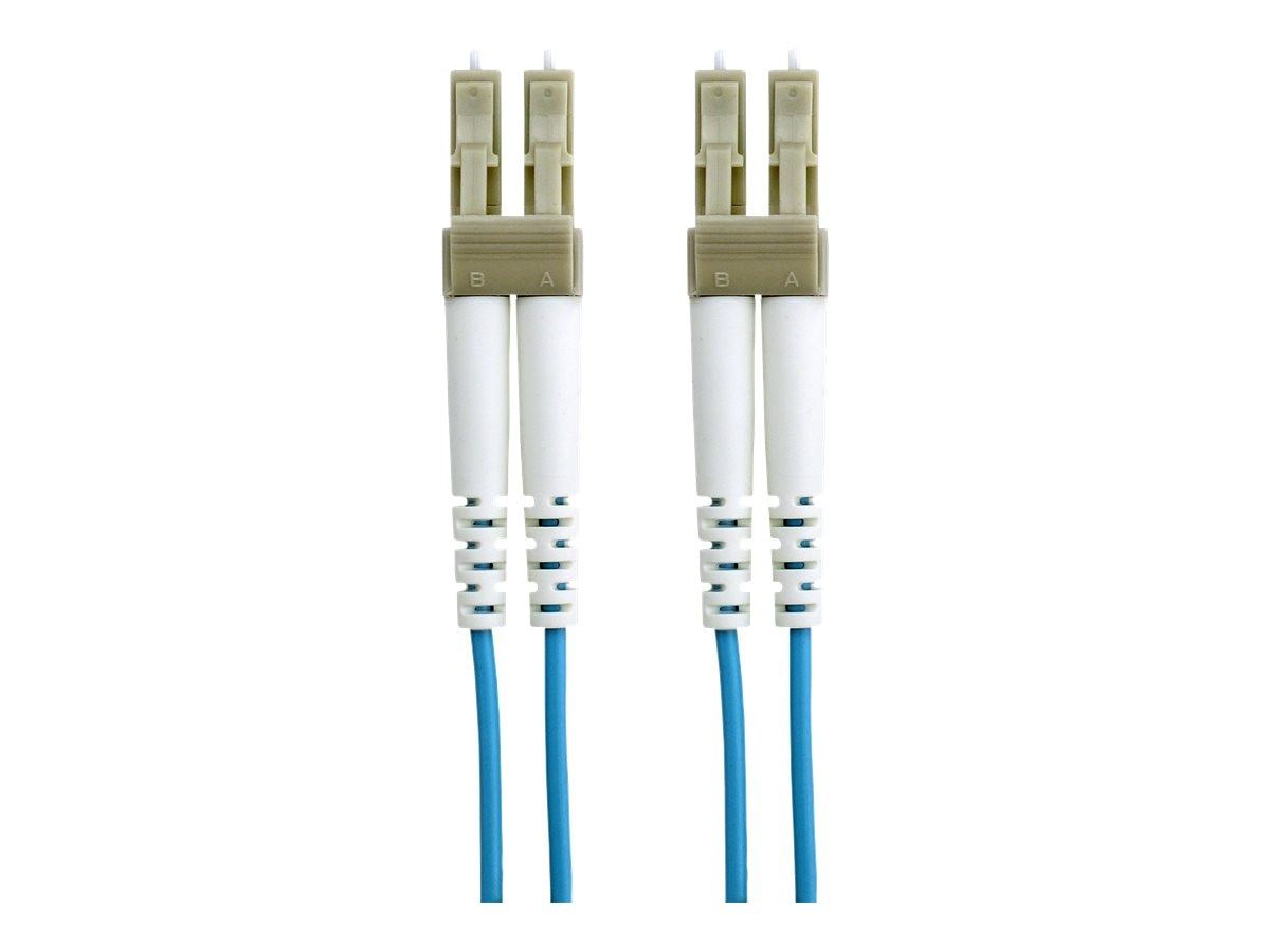Belkin 10GB Fiber Patch Cable, LC-LC, 50 125, Multimode, Aqua, 1m, F2F402LL-01M-G, 7201032, Cables