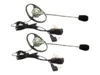 Midland Radio AVPH7 Outfitters GMRS Headset with Microphone & PTT Button, Camo - Pair, AVPH7, 13846523, Headsets (w/ microphone)