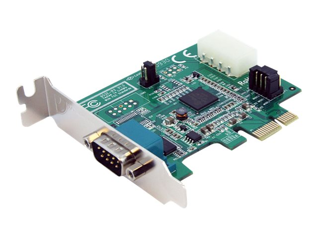StarTech.com 1 Port Low Profile Native PCI Express Serial Card w  16950