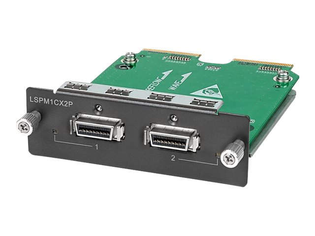 HPE 2-port 10GBE A5500 Local Conn. Module, JD360B, 11490981, Network Device Modules & Accessories