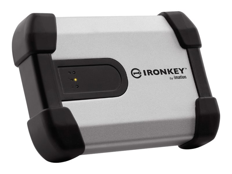 IronKey 500GB IronKey Basic H350 USB 3.0 FIPS-B 2.5 External Hard Drive, MXKB1B500G5001FIPS-B, 20726651, Hard Drives - External