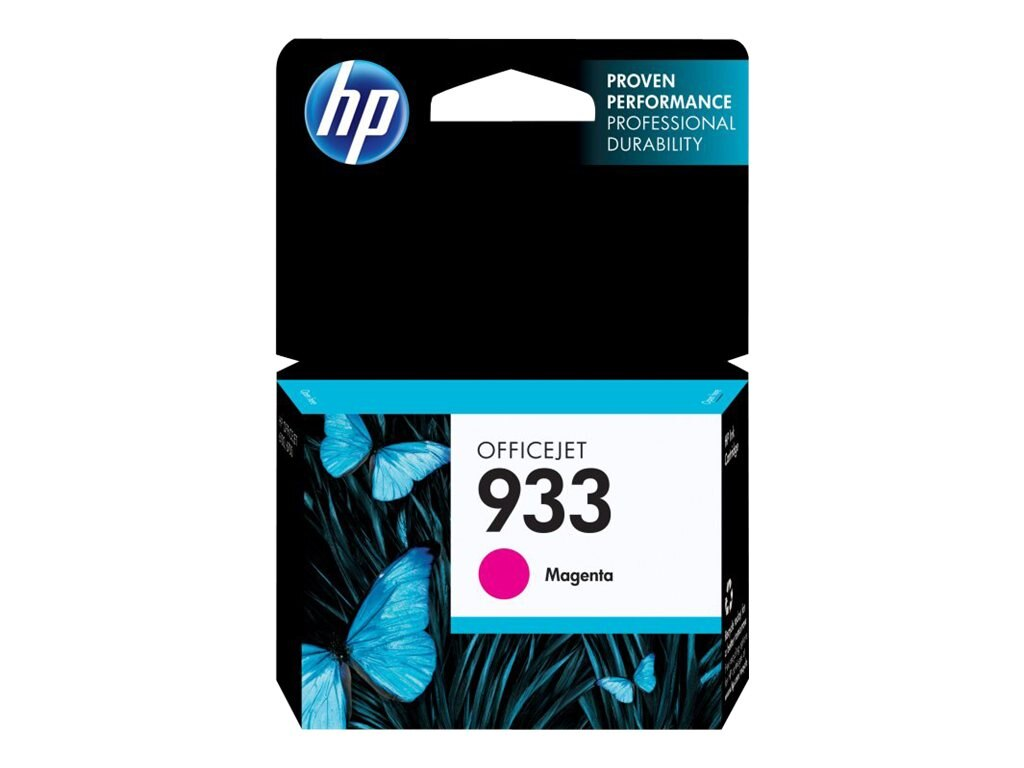 HP 933 (CN059AN) Magenta Original Ink Cartridge, CN059AN#140, 13469481, Ink Cartridges & Ink Refill Kits