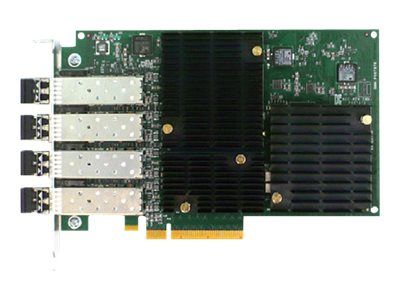 Emulex Lightpulse Gen 5 (16GB) Fibre Channel Host Bus Adapter-QUAD-POR, LPE16004-M6, 16204235, Network Adapters & NICs