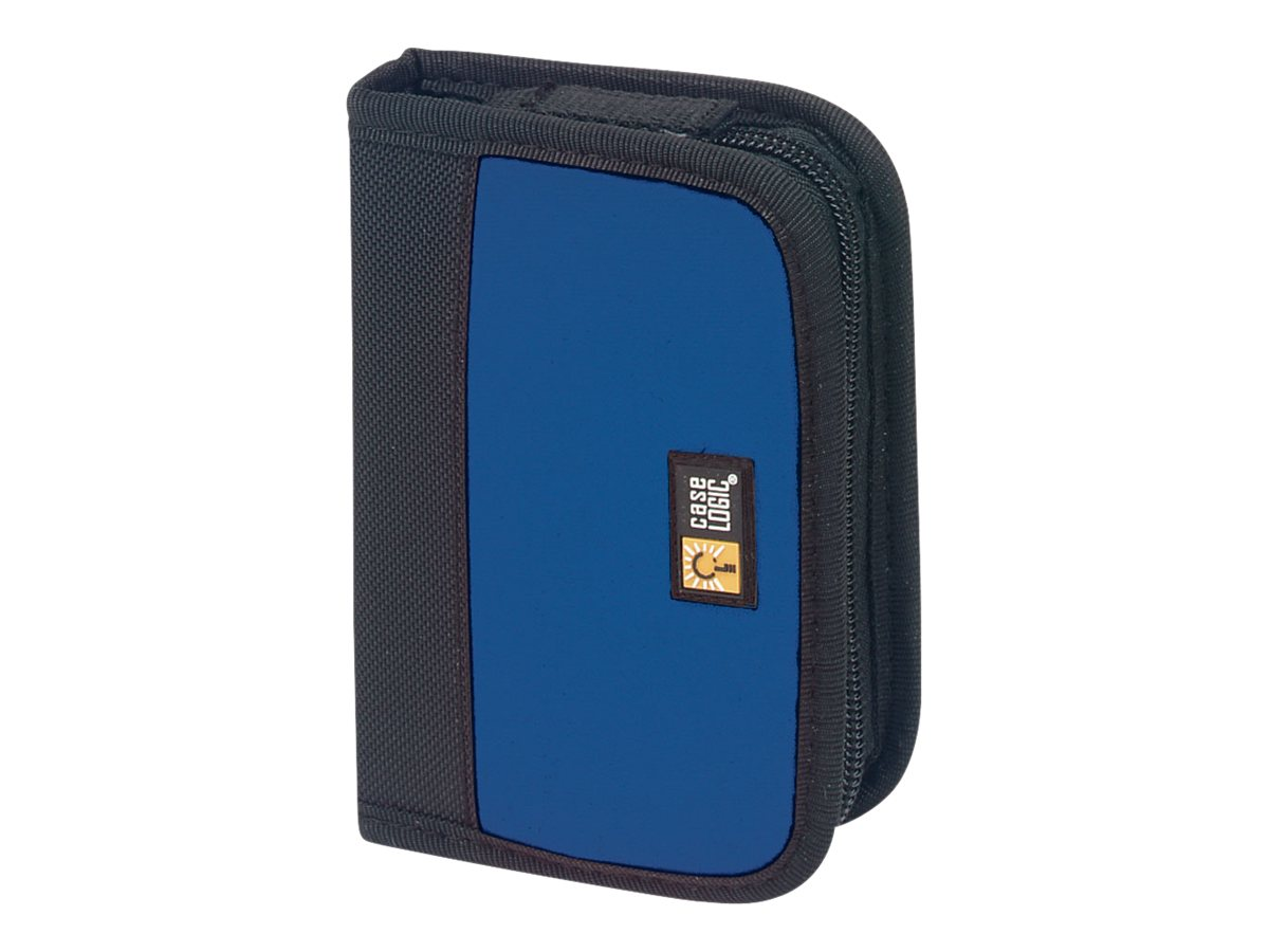 Case Logic USB Drive Case 6 Cap BLU BLK, JDS-6BBK, 16815651, Media Storage Cases