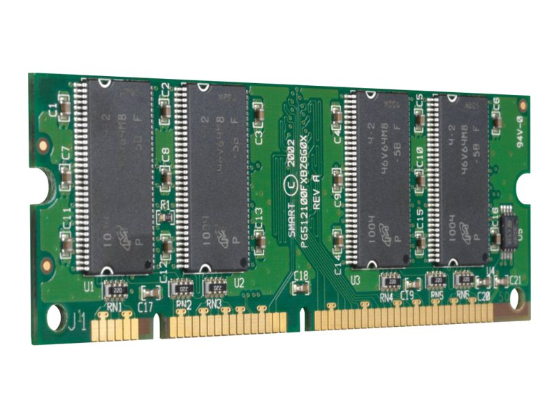 HP 256MB 200-pin DDR SDRAM SODIMM for Select LaserJet Printers, Q7558A