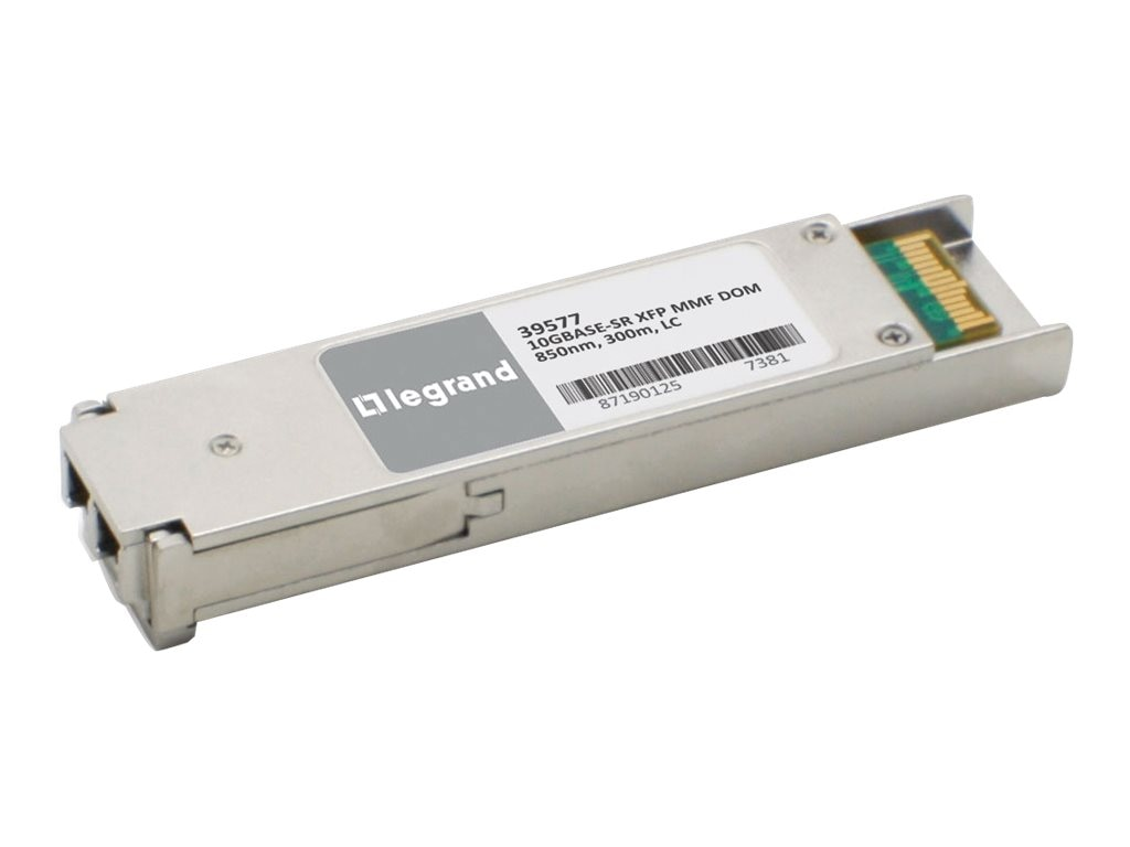C2G Cisco XFP-10G-MM-SR Compatible 10GBase-SR MMF XFP Transceiver
