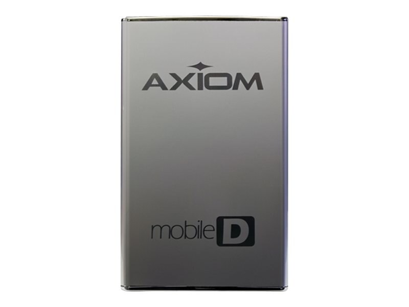 Axiom 1TB USB 3.0 7.2K RPM Portable Hard Drive, USB3HD2571TB-AX, 22250730, Hard Drives - External