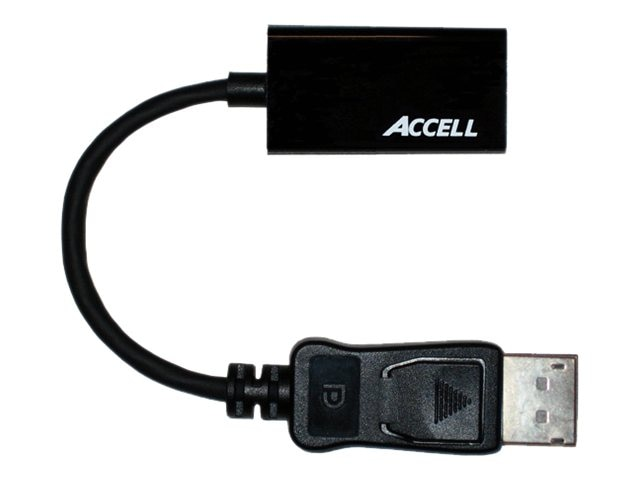 Accell UltraAV DisplayPort 1.1 to HDMI 1.4 Passive Adapter, 8-Pack, B086B-004B