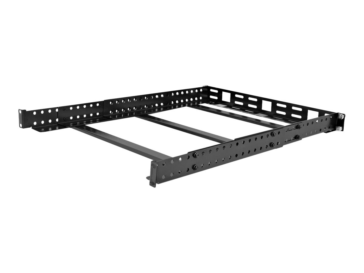 V7 Rack Mount Universal Rail 1U Cable Management Adjustable Depth, RMUR1U-1N