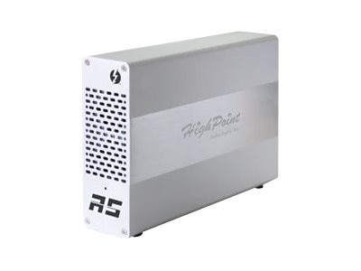 HighPoint Ultra-Slim Thunderbolt 2 PCIe Expansion Chassis, RocketStor-6361A, 17917675, Controller Cards & I/O Boards