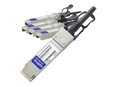 ACP-EP 100GBase-CU QSFP28 to 4x SFP28 Passive Twinax Direct Attach Cable, 3m