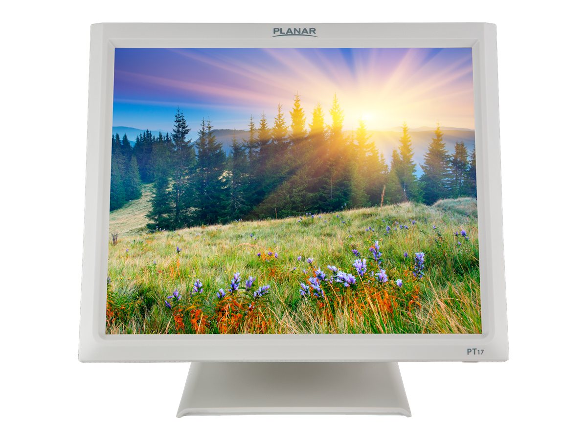 Planar 17 PT1745R LCD Touchscreen Monitor, White, 997-7454-00