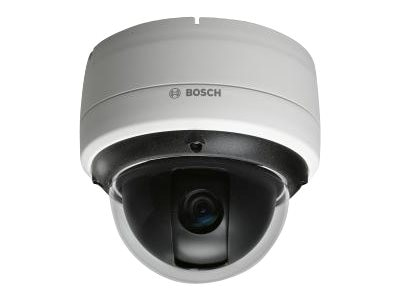 Bosch Security Systems Fixed Indoor AutoDome Junior HD Camera with IVA, 10X, Tinted Bubble, White