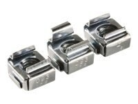 Ortronics Rack Unit Cage Nuts (50-pack), OR-RU-1224CN, 10836442, Rack Mount Accessories