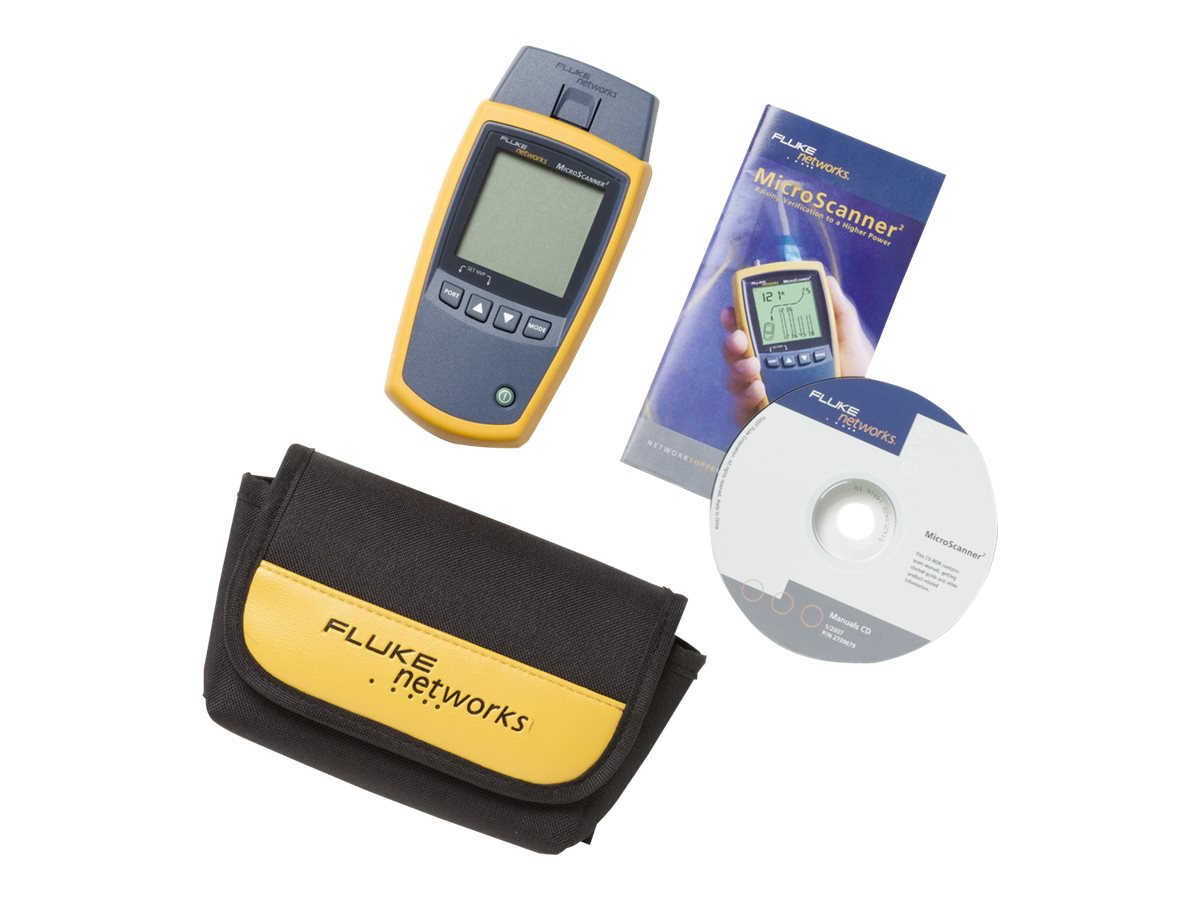 Fluke MS2-100 MicroScanner2 Cable Verifier, MAP