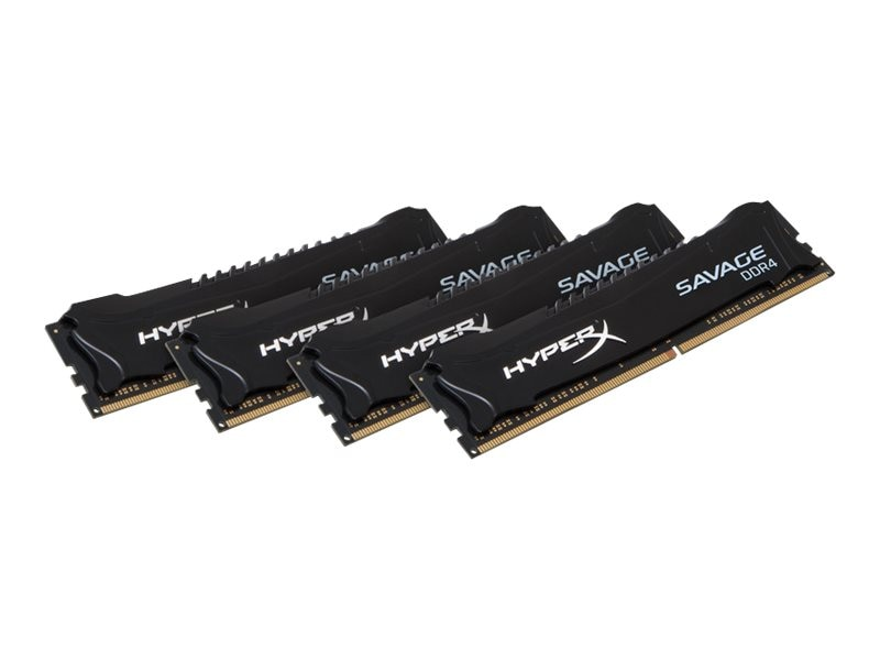 Kingston 32GB PC4-19200 288-pin DDR4 SDRAM UDIMM Kit, HX424C12SB2K4/32, 31225608, Memory