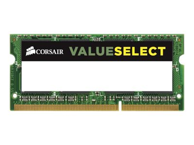 Corsair 8GB PC3-12800 204-pin DDR3 SODIMM, CMSO8GX3M1A1600C11