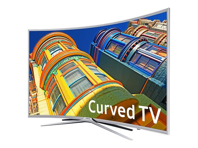 Samsung 54.6 K6250 Full HD LED-LCD Curved TV, Silver, UN55K6250AFXZA, 31957631, Televisions - LED-LCD Consumer