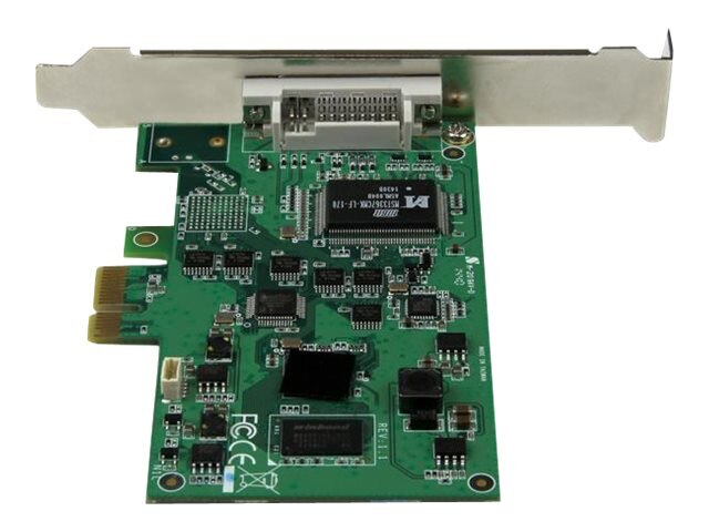StarTech.com DVI-D 1080p High-Definition PCIe Capture Card, PEXHDCAP2, 31156041, Video Capture Hardware