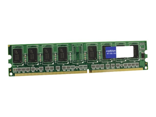 ACP-EP 1GB PC3200 DDR SDRAM DIMM for Select ThinkCentre Models, 22P9272-AA