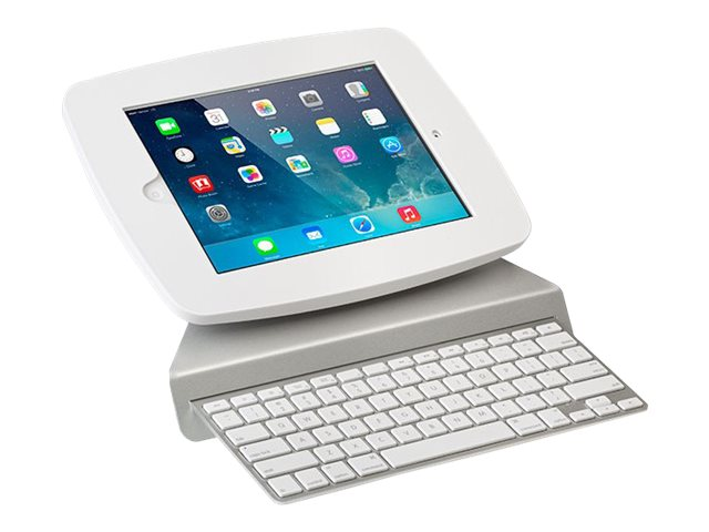 Tryten Keyboard Tray for iPad Kiosk and Floor Stand, Silver