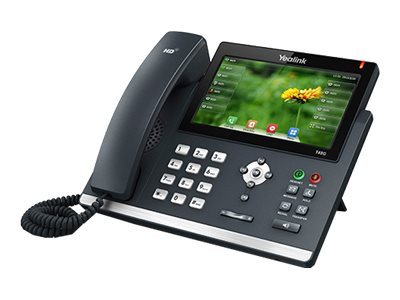 Yealink Open Box Gigabit Color IP Phone, SIP-T48G, 31389021, VoIP Phones