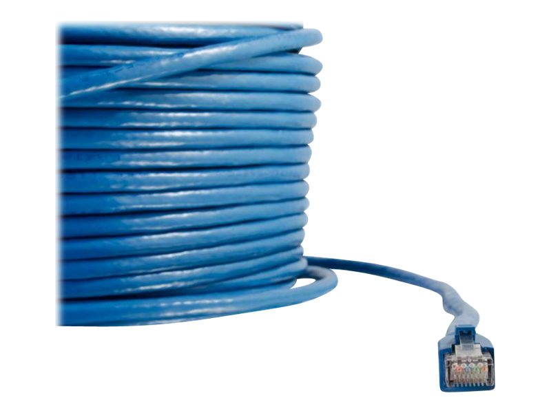 C2G Cat6 Snagless Solid Shielded Network Patch Cable - Blue, 200ft