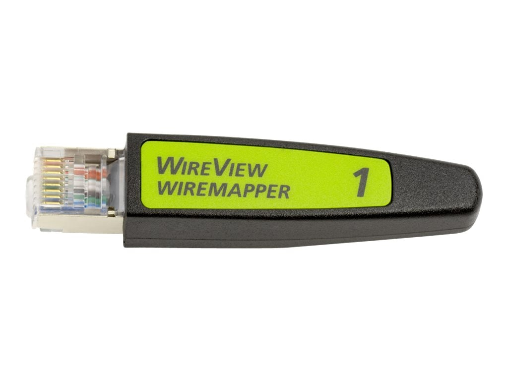 WireView WireMapper #1, WIREVIEW 1