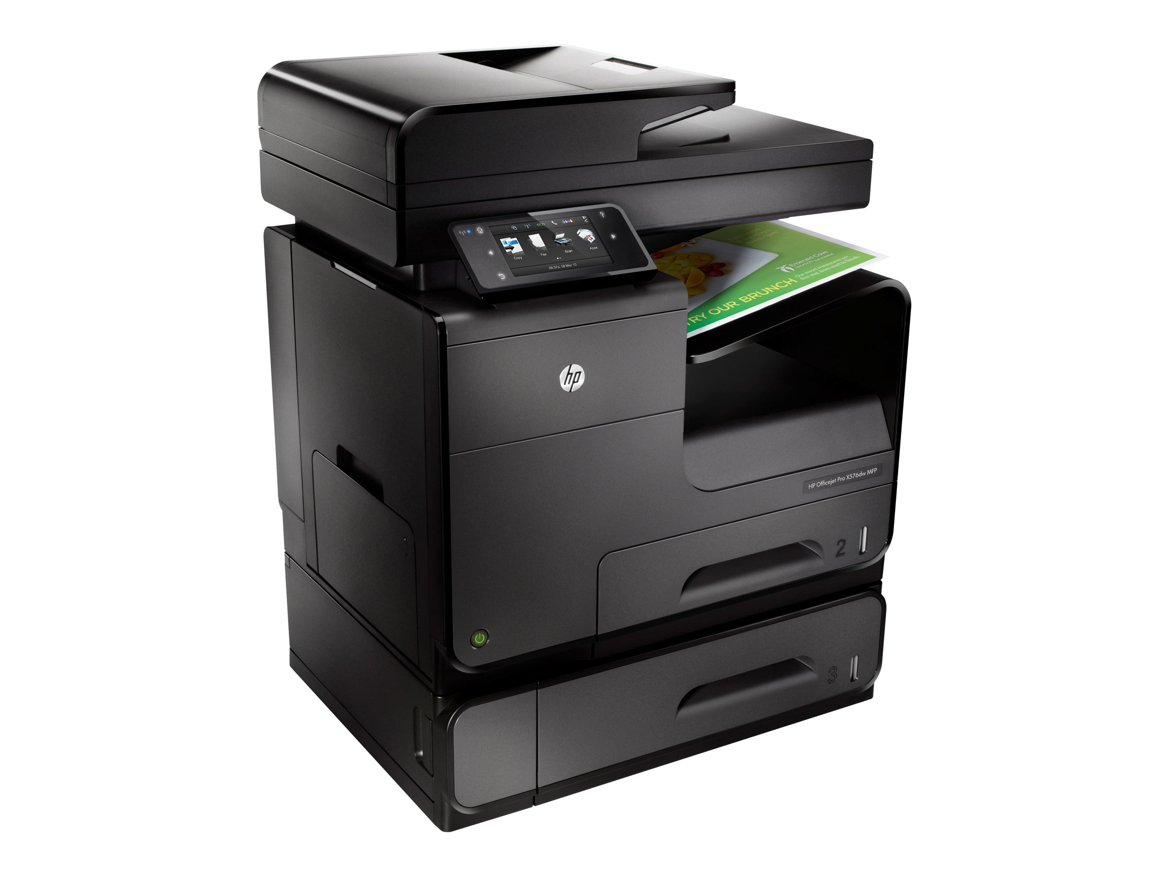 HP Officejet Pro X Series X576dw Color MFP $799 - $200 instant rebate = $599 Expires 12 31 2015, CN598A#B1H