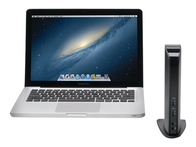 Kensington USB 3.0 Docking Station with Dual Video, K33972US
