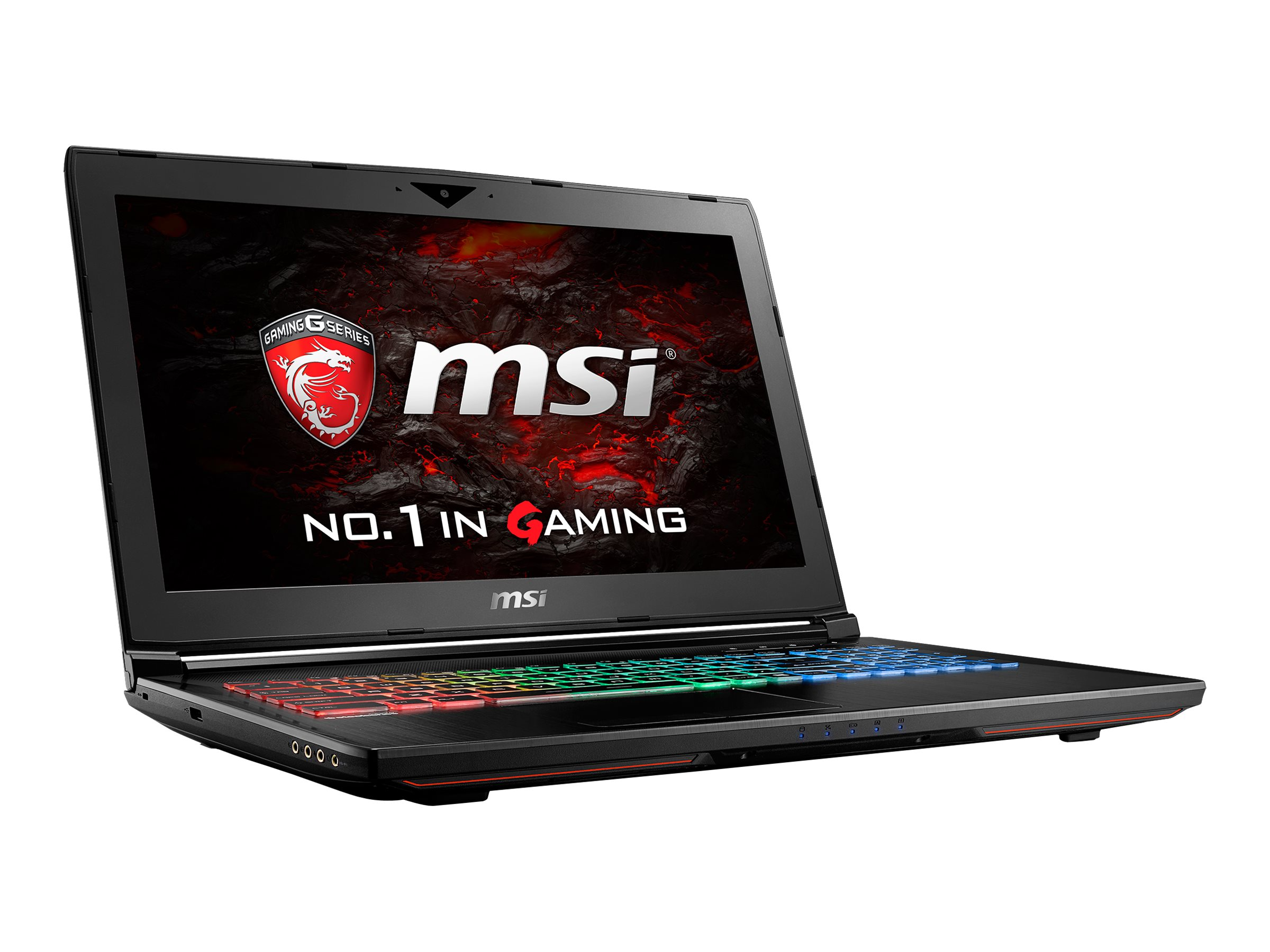 MSI GT62VR Dominator-078 Core i7-6700HQ 2.6GHz 16GB 1TB ac GNIC BT GTX1060 15.6 FHD W10