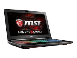 MSI GT62VR Dominator-078 Core i7-6700HQ 2.6GHz 16GB 1TB ac GNIC BT GTX1060 15.6 FHD W10, GT62VR DOMINATOR-078, 32577373, Notebooks