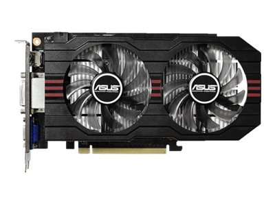 Asus GeForce GTX 750 TI PCIe 3.0 Overclocked Graphics Card, 2GB GDDR5, GTX750TI-OC-2GD5