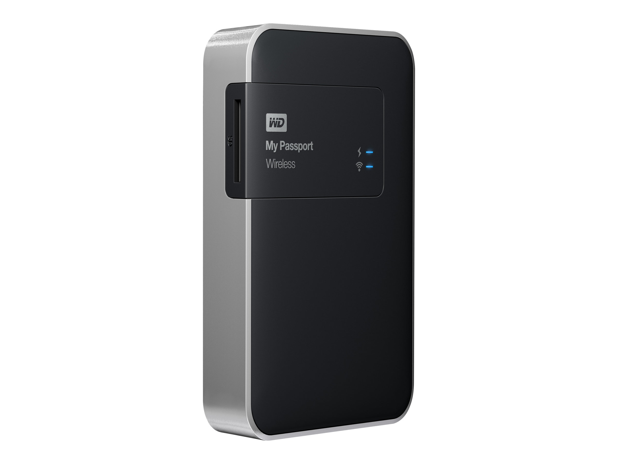WD 1TB My Passport Wireless Storage - Black, WDBK8Z0010BBK-NESN