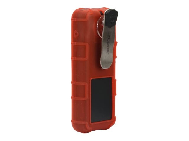 Zcover Silicone Case w LP Belt Clip, Red, Dock-in-case for Cisco 8821 8821-EX, CI821HUD