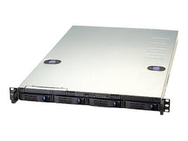 Chenbro 1U Chassis, 26, 4xBays, 400W PSU, RM11704T2-400-T, 11304982, Cases - Systems/Servers