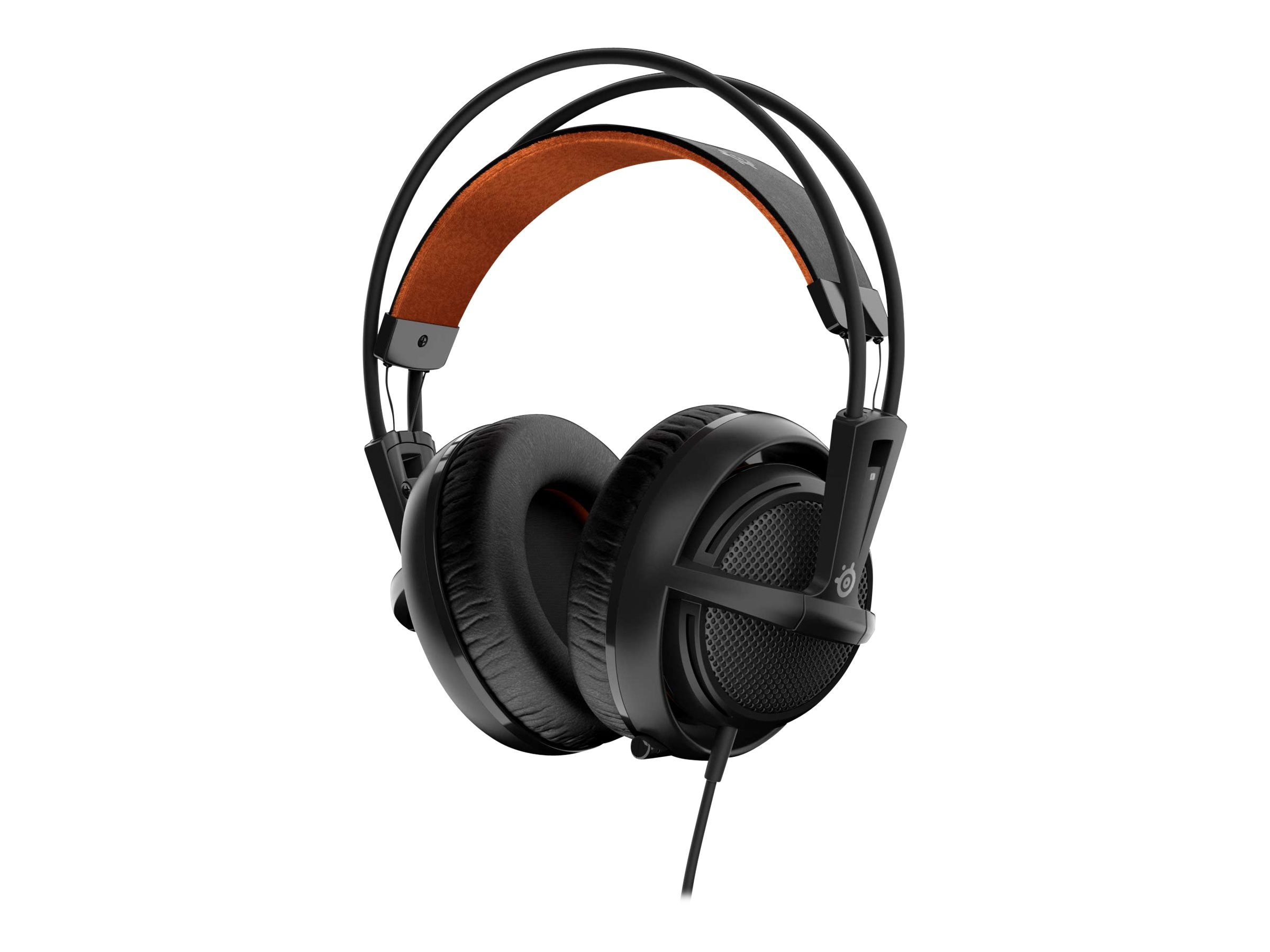 Steelseries Siberia 200 Headset - Black, 51133, 30806620, Headsets (w/ microphone)