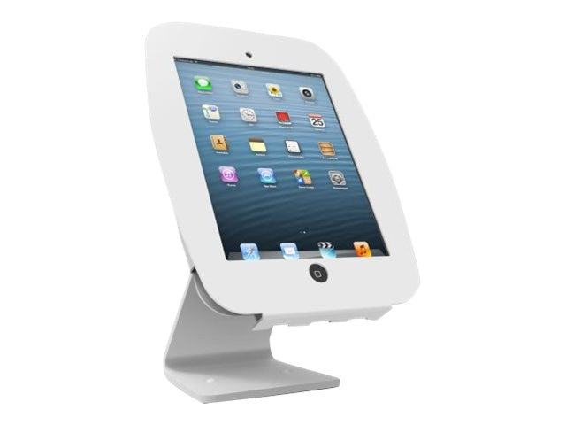 Compulocks Space 360 iPad Enclosure Rotating and Swiveling Stand, White, 303W224SENW, 17020956, Security Hardware