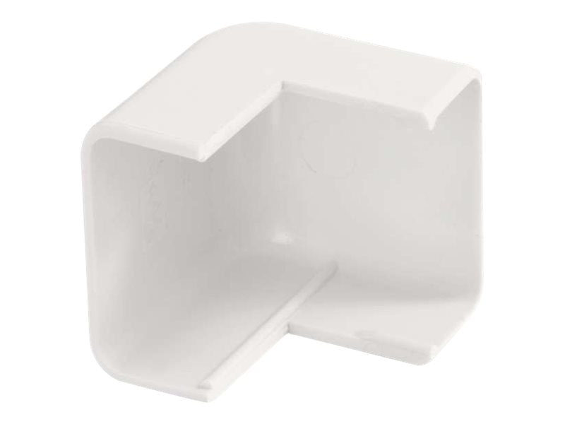 C2G Wiremold Uniduct 2800 External Elbow, White, 16067, 18016123, Cable Accessories