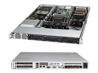 Supermicro SuperServer Barebones 1U RM Xeon E5-2600 Family Max.256GB DDR3 3x3.5 HS Bays 2xPCIe GNIC 1400W, SYS-5017GR-TF-FM175, 14765004, Servers