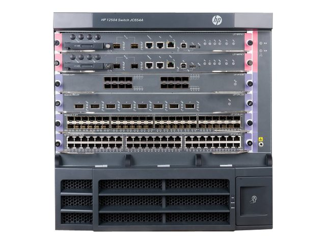 HPE 12504 AC Switch Chassis