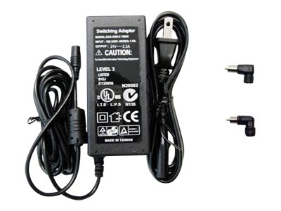 Arclyte AC Adapter, 24V 2.5A + G, Q Tips for Apple, A00001