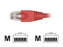 Black Box GigaTrue Cat6 550MHz Patch Cable, Red, 15ft, 25-Pack, EVNSL643-0015-25PAK, 34005432, Cables