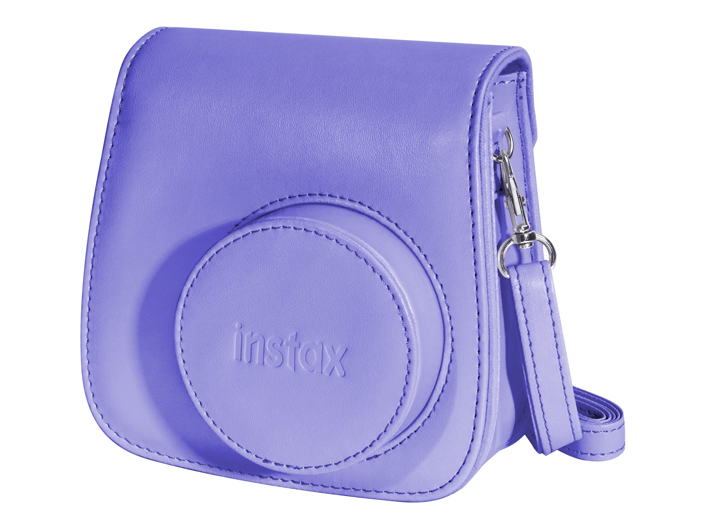 Fujifilm Instax Groovy Camera Case w  Shoulder Strap for Instax Mini 8 Instant Camera, Grape, 600015377, 21730176, Carrying Cases - Camera/Camcorder