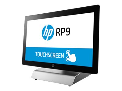 HP RP9 Model 9015 POS AIO Core i3-6100 3.7GHz 4GB 500GB ac BT 15.6 Touch W7P64-W10P, Z2G80UT#ABA